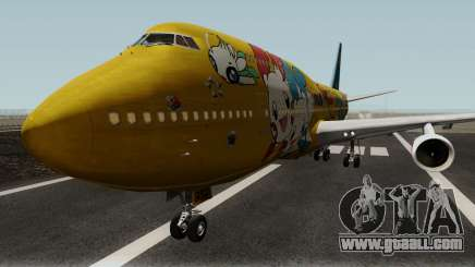 Boeing 747-400 ANA Pokemon Jet for GTA San Andreas