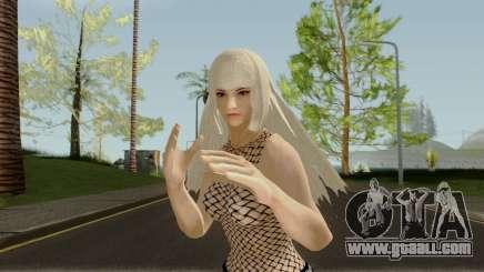 Lili Takken7 Updated (Blonde) for GTA San Andreas