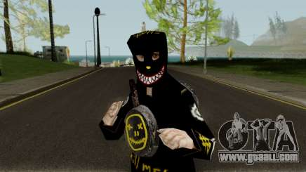 NINJA PAN for GTA San Andreas