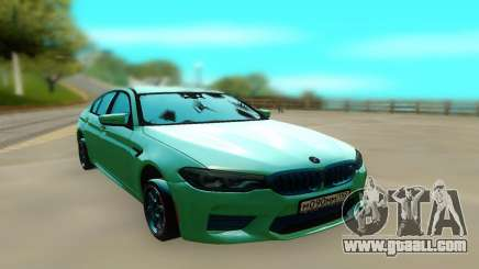 BMW M5 F90 Green for GTA San Andreas