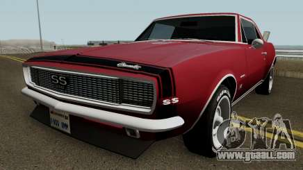 Chevrolet Camaro Z28 Buddy Repperton v1.0 1967 for GTA San Andreas