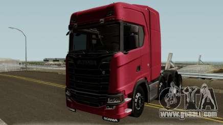 Scania Next Generation S730 V8 for GTA San Andreas