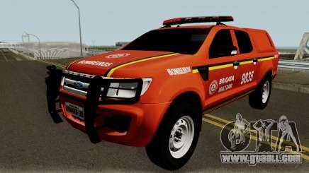 Ford Ranger Brazilian Police for GTA San Andreas