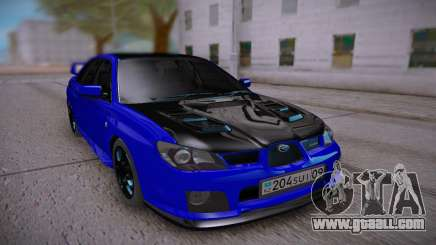 Subaru Impreza WRX STi Sedan for GTA San Andreas