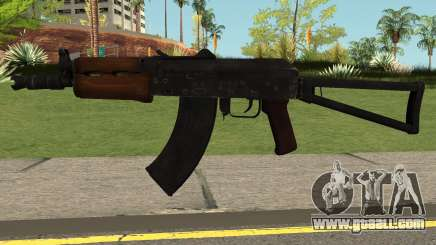 Contagion AK74U for GTA San Andreas