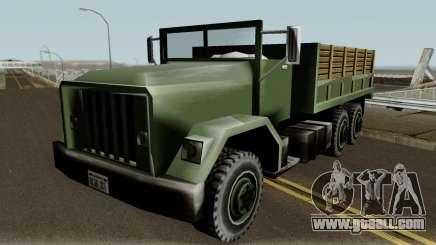 New Barracks IVF for GTA San Andreas