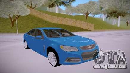 Chevrolet SS 2014 for GTA San Andreas