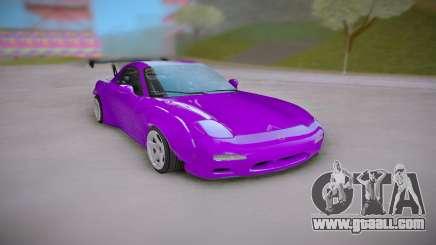 Mazda RX-7 Purple for GTA San Andreas