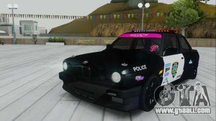 BMW E30 Police for GTA San Andreas