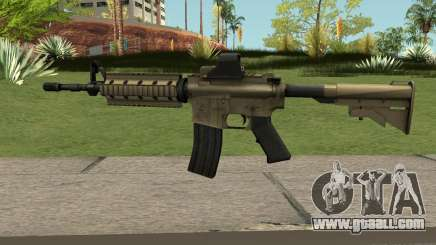 M4A1 TAN for GTA San Andreas