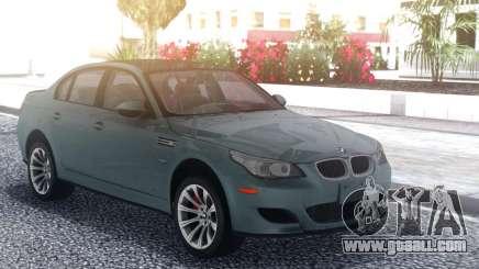 BMW M5 E60 Grey for GTA San Andreas