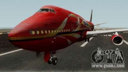 Boeing 747-400 Malaysia Airlines Hibiscus Livery for GTA San Andreas