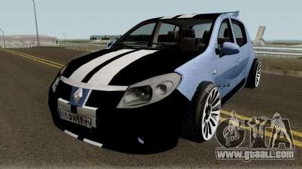 Renault Sandero Sportiran for GTA San Andreas