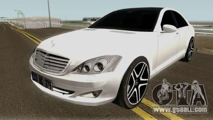 Mercedes Benz S420 Limousine Turkish for GTA San Andreas