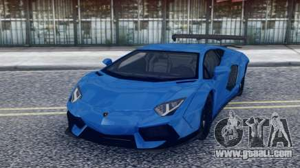 Lamborghini Aventador Stock for GTA San Andreas
