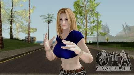 Tina Armstrong (Casual Long Hair) From DOA5LR for GTA San Andreas