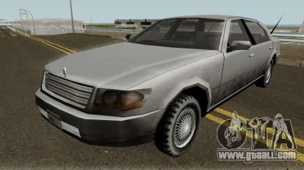 Lincoln Town Car (SA Style) V1 for GTA San Andreas
