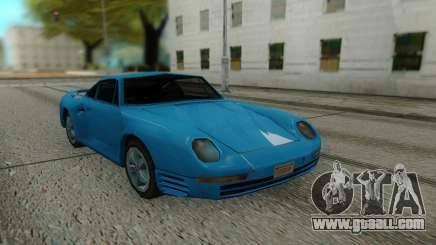 Porshe 959 87 Sastyle for GTA San Andreas