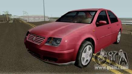 Volkswagen Jetta Clasico (SA Style) for GTA San Andreas