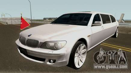 BMW 760Li E66 W12 Limousine for GTA San Andreas