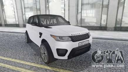 Land Rover Range Rover Sport SVR Stock for GTA San Andreas