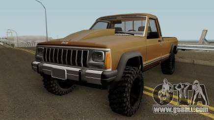 Jeep Comanche HQ for GTA San Andreas