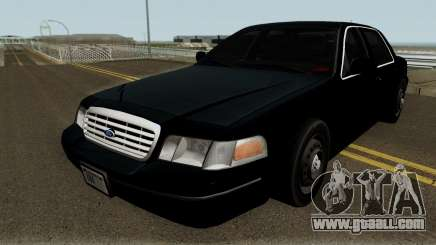 Ford Crown Victoria FBI 2003 for GTA San Andreas