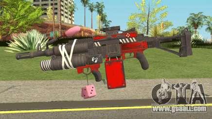 Harley Gun for GTA San Andreas