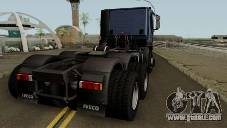 Iveco Trakker Cab Day 6x4 for GTA San Andreas right view