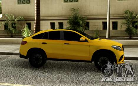 Mercedes-Benz GLE 63 PP Performance for GTA San Andreas
