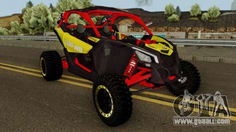 Can-Am Maverick X3 for GTA San Andreas inner view