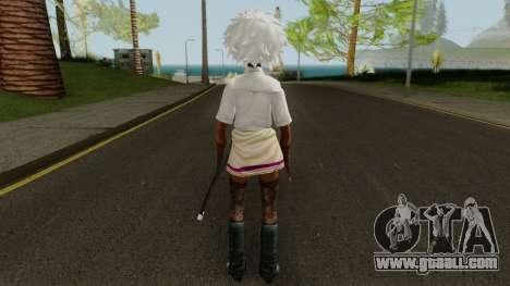 No More Heroes Shinobu for GTA San Andreas third screenshot
