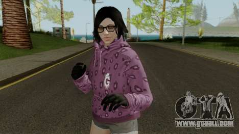 Skin DLC After Hours Female for GTA San Andreas