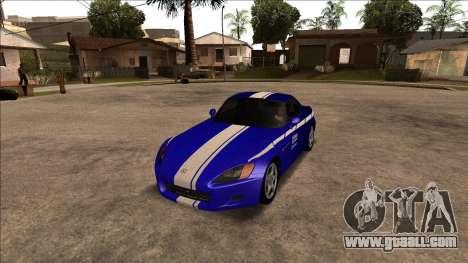 Honda S2000 AP1 for GTA San Andreas