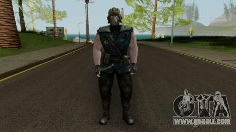 Kold War Sub-Zero MKXM for GTA San Andreas second screenshot