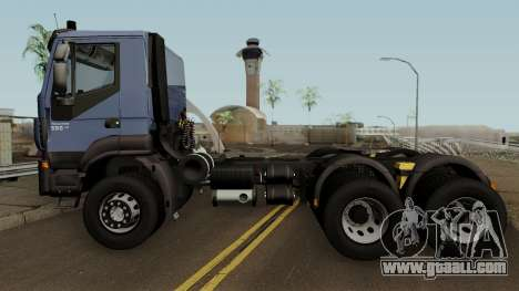 Iveco Trakker Cab Day 6x4 for GTA San Andreas left view