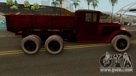THE ZIS-6, 1934 IVF for GTA San Andreas