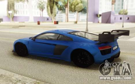 Audi R8 Carbon Spoiler for GTA San Andreas right view