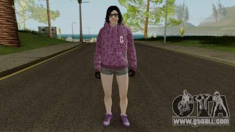 Skin DLC After Hours Female for GTA San Andreas second screenshot