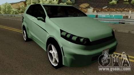 Honda Brio (SA Style) for GTA San Andreas