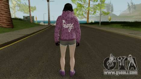 Skin DLC After Hours Female for GTA San Andreas third screenshot