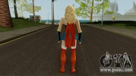 DCUO Supergirl Bombshell for GTA San Andreas third screenshot