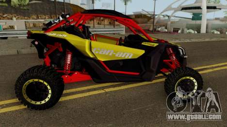 Can-Am Maverick X3 for GTA San Andreas back view
