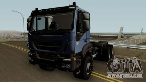Iveco Trakker Cab Day 6x4 for GTA San Andreas