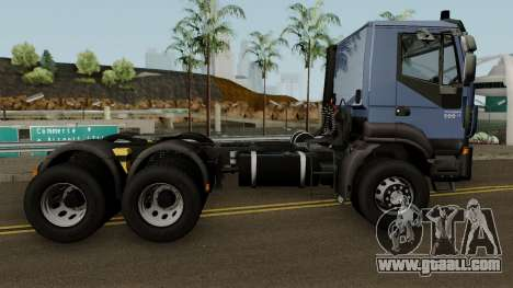 Iveco Trakker Cab Day 6x4 for GTA San Andreas back view