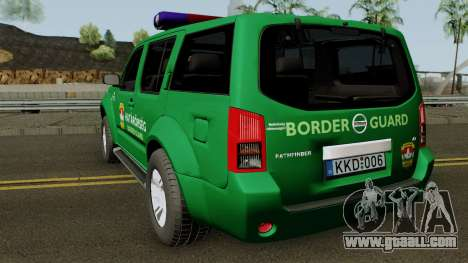 Nissan Pathfinder Hatarorseg for GTA San Andreas