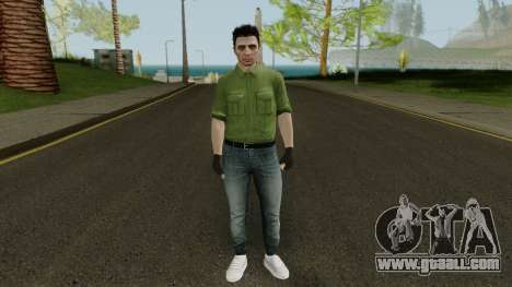 Random GTA: Online skin for GTA San Andreas second screenshot