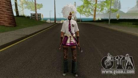 No More Heroes Shinobu for GTA San Andreas second screenshot