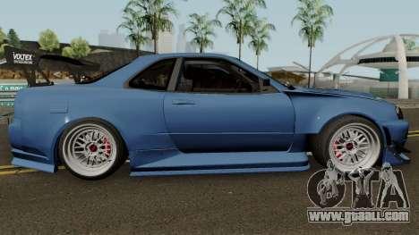 Nissan Skyline GTR R34 Sun Line Racing for GTA San Andreas