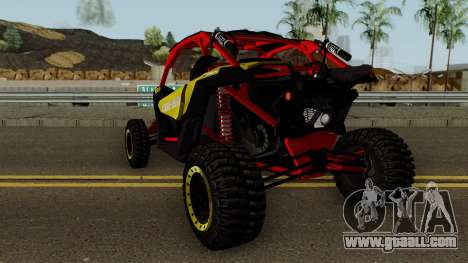 Can-Am Maverick X3 for GTA San Andreas back left view